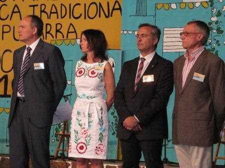 En la presentación del festival.