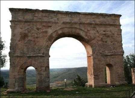 Arco romano de Medinaceli.