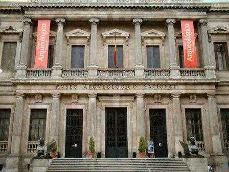 Museo Arqueológico Nacional en Madrid.