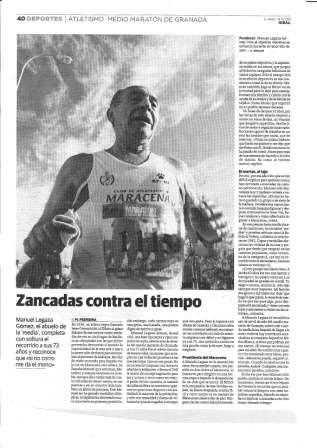 Manuel Legaza Gómez, el abuelo de la 'media'