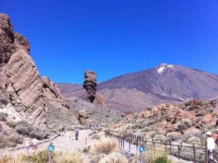 Una bella imagen del Teide.
