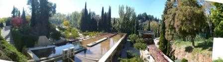 Ubicación del futuro Atrio de La Alhambra.