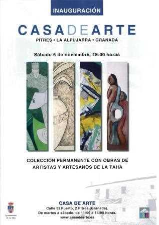 Cartel de la Inauguración.