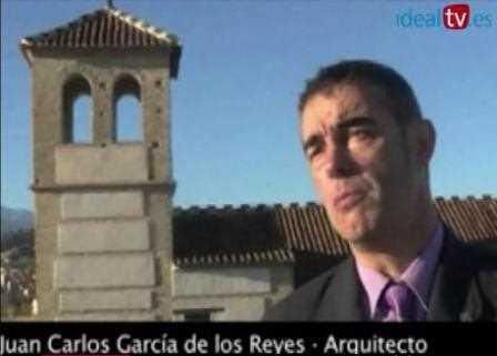 Juan Carlos García de los Reyes durante la entrevista.