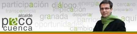 Cabecera de la web 'Paco Cuenca Alcalde'.