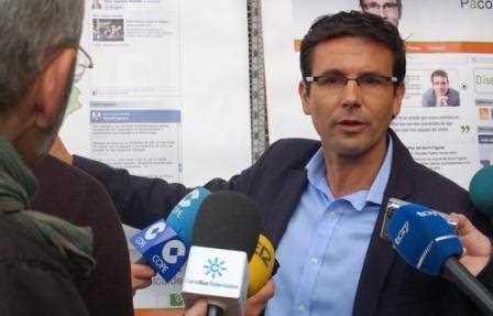 Paco Cuenca, candidato a alcalde de la Ciudad de Granada.