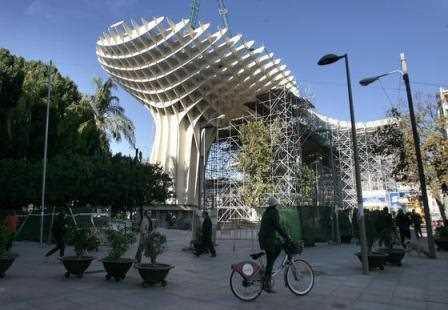 La Setas de la Encarnación en Sevilla.