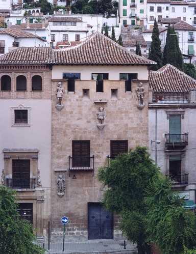 Casa de los Tiros. Fuente: descubra.info