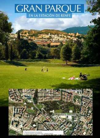 Proyecto Gran Parque central en los terrenos de RENFE