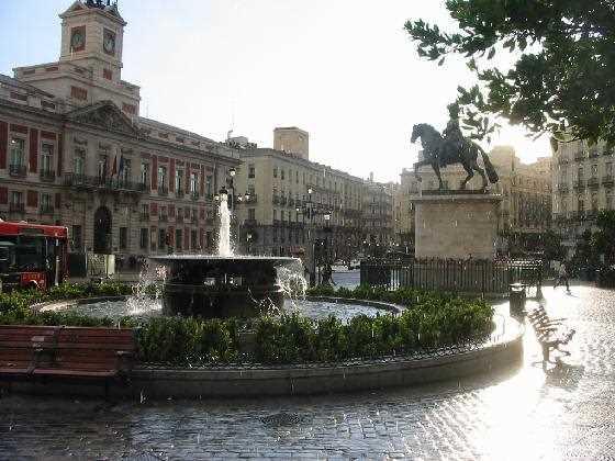 Puerta del Sol. Fuente: urbemadrid.es