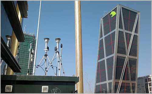 Estacion meteorologica en Madrid. fuente: http://eco.microsiervos.com