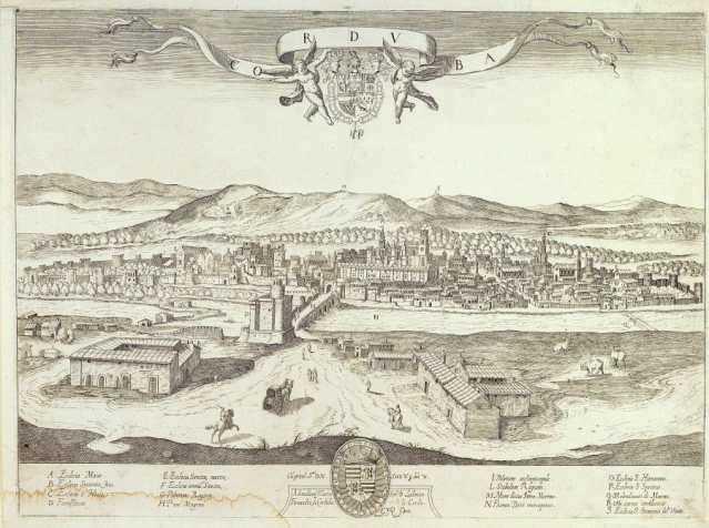 Vista de Córdoba, 1850