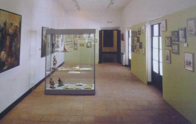 Vista general de la Sala El costumbrismo. Imagen de la guía oficial museo casa de los tiros de granada