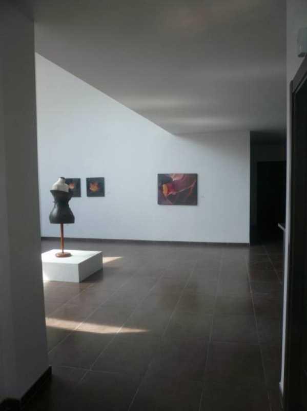Vista de la sala de exposición