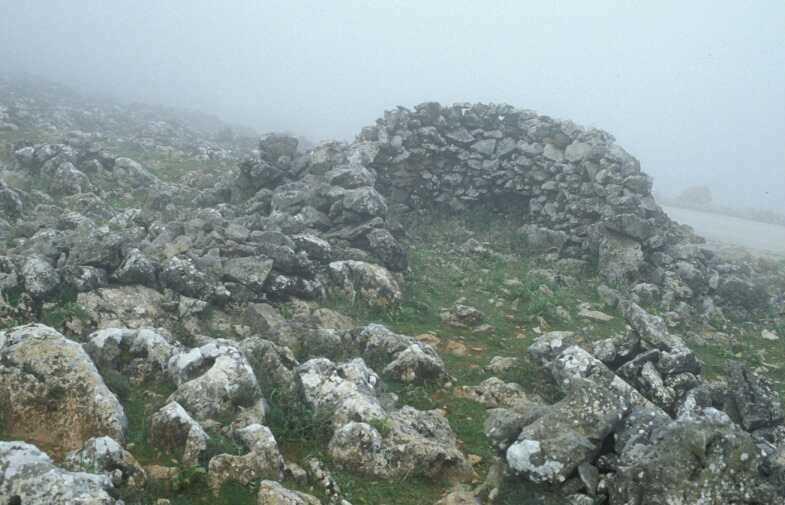 Refugio el Puerto, en la sierra de Loja.