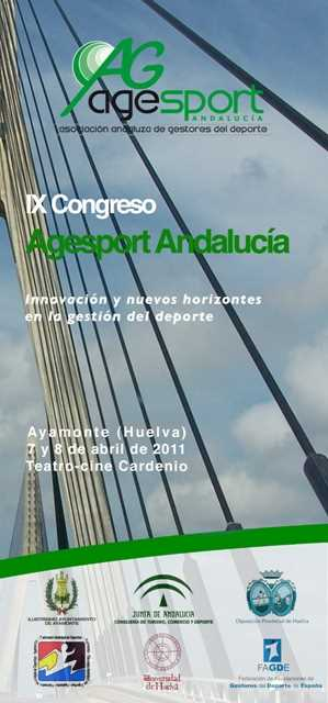 IX Congreso Agesport Andalucia