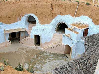 Matmata. Túnez