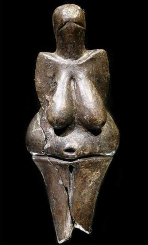 Venus de Dolní Věstonice.   Fuente: wikipedia.org