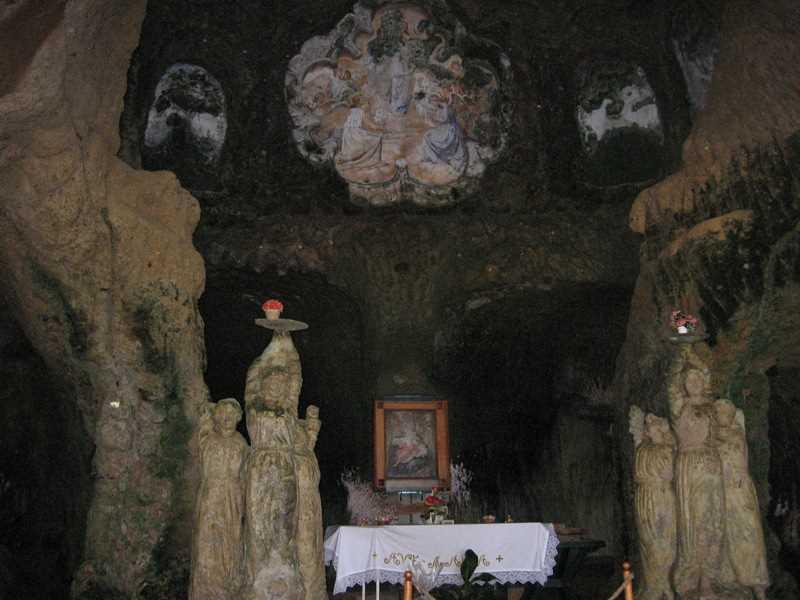 Iglesia Rupestre en Calabria