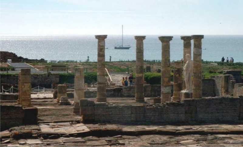 Las ruinas arqueológicas de Baelo Claudia