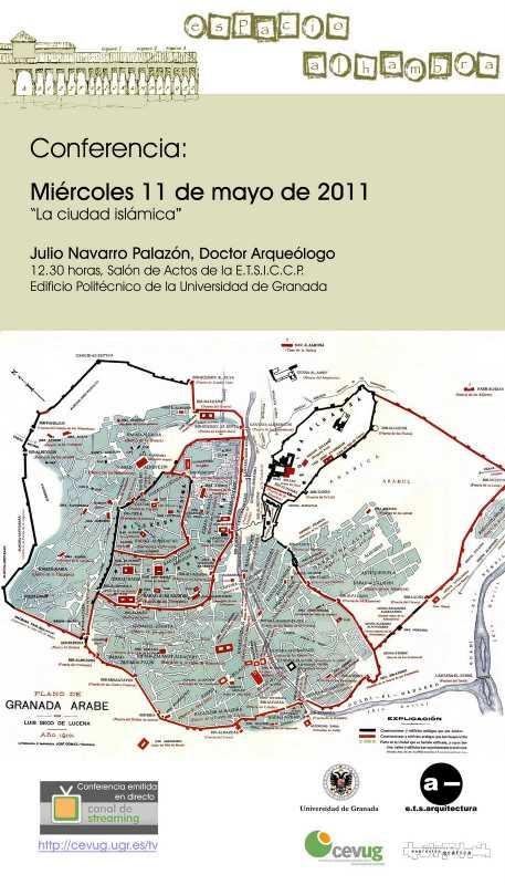 Cartel de la conferencia. FUENTE: laac.es