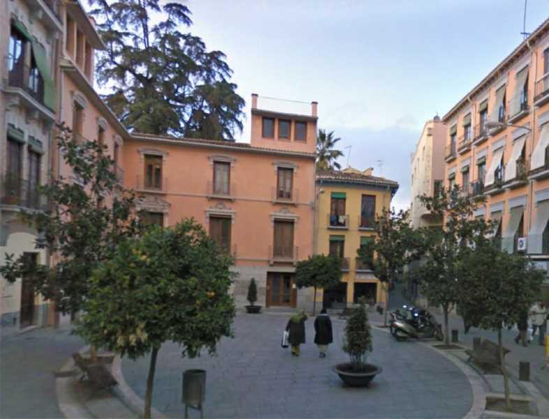 Vista exterior de la sede del COA Granada