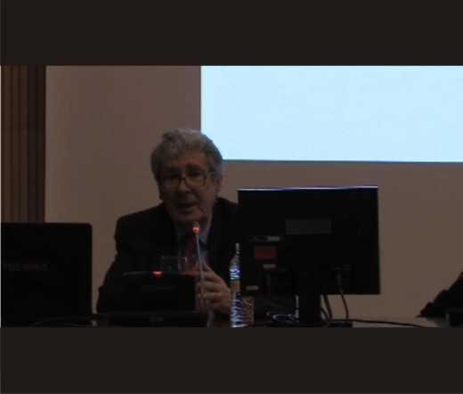 Imagen de la videoconferencia. FUENTE: cevug.ugr.es