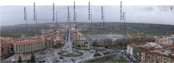 Serie de panorámicas desde la torre: 2