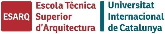 Logo ESARQ y UIC. FUENTE: uic.es