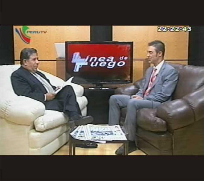 Captura de la entrevista