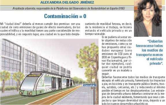 """Alexandra Delgado Jiménez, """"Contaminación = 0"""". FUENTE: dgt.es"""