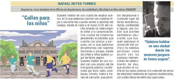 """Rafael Reyes Torres, """"Calles para los niños"""". FUENTE: dgt.es"""