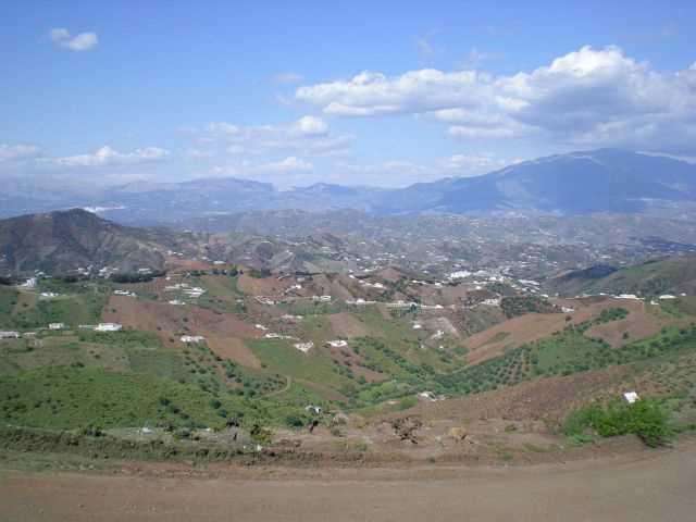 Panoramica de la Axarquia. FUENTE: diariosur.es