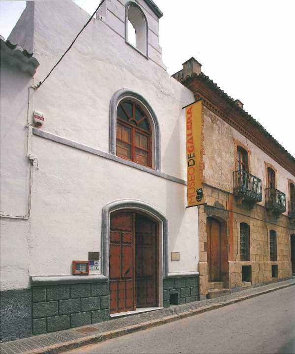 Fachada del Museo de Galera. Fuente:Guía Oficial del Museo de Galera