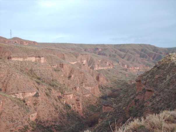 Imagen de formaciones geologicas de la comarca