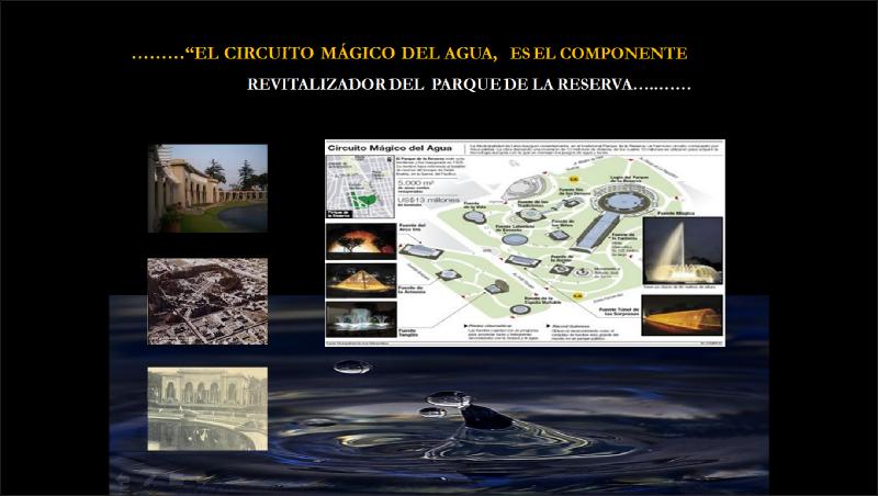 """""""CIRCUITO MÁGICO DEL AGUA"""". FUENTE: apuntesdearquitecturadigital.com"""