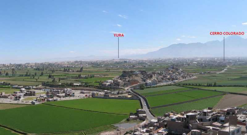 Panoramica de Arequipa