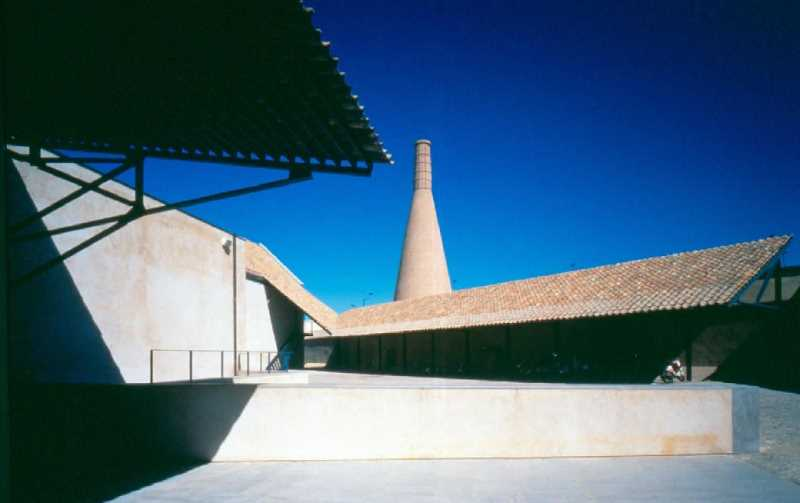 Instituto Andaluz del Patrimonio Historico en la Cartuja de Sevilla. FUENTE: vazquezconsuegra.com
