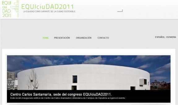 Captura de la web oficial. FUENTE: equiciudad.es/
