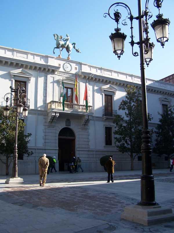 Ayuntamiento de Granada. FUENTE: juntadeandalucia.es