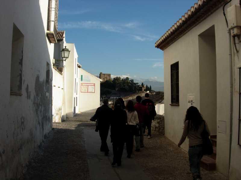 Caminando por el Albaicin