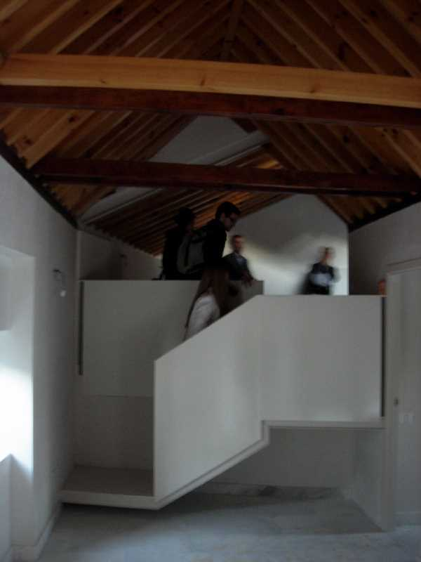 Interior de una de las viviendas rehabilitadas por Ubaldo Garcia