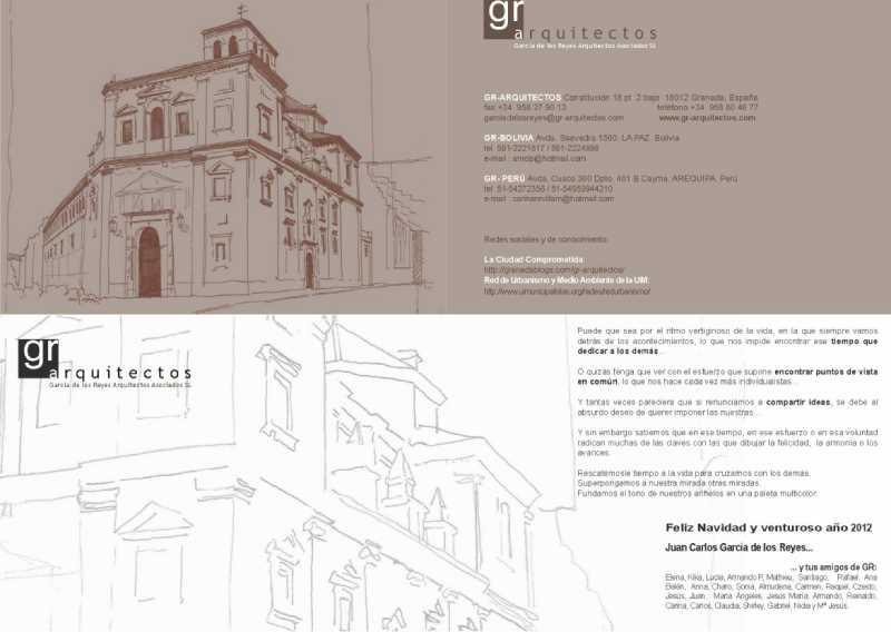 Pincha en la imagen para ver el Christmas de  Navidad 2011 GRarquitectos