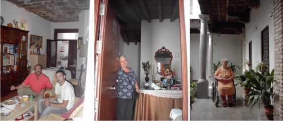 Inquilinos de la Casa Cuna realojados en el edificio rehabilitado de C/ Elvira 78.