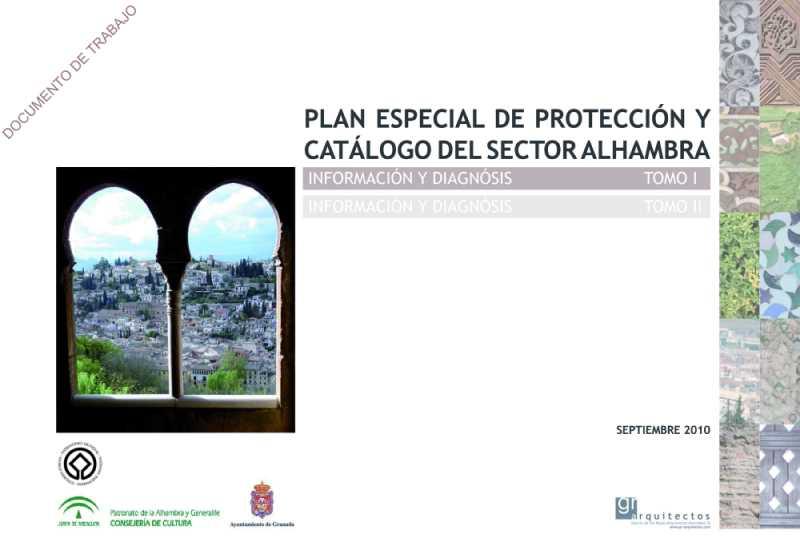 Plan Especial de Protección y Catalogo del Sector Alhambra. Granada