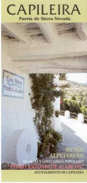 Imagen de la entrada del museo. Fuente www.capileira.es