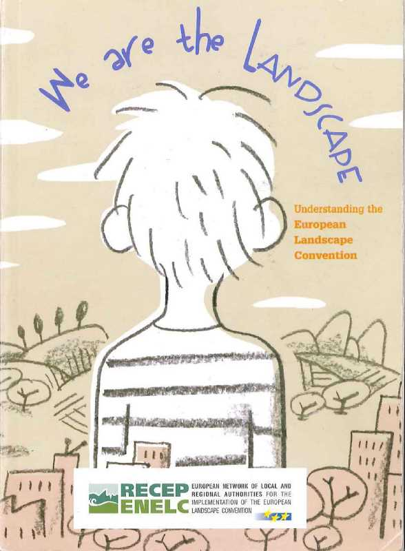 "Portada del libro ""We are the Lanscape"""