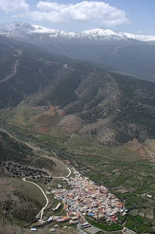 Vista aérea de Ferrerira