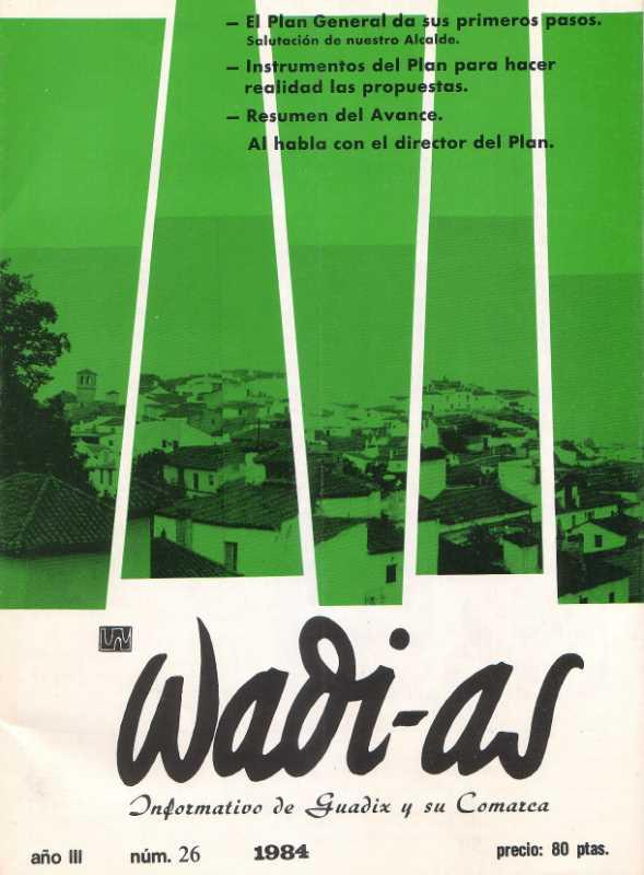 Portada de Wadi-as de 1984. FUENTE: Wadi-as