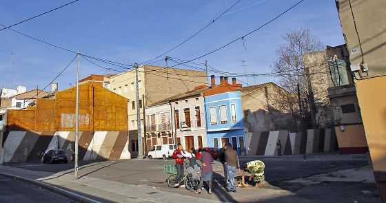 Imagen de una calle de El Cabanyal. FUENTE: elpais.com